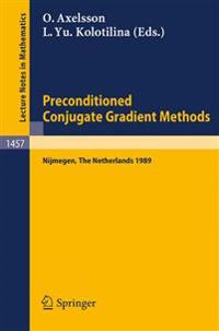 Preconditioned Conjugate Gradient Methods