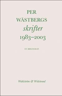 Bibliografi 1983--2003
