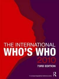 The International Who's Who 2010
