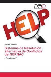 Sistemas de Resolucion Alternativa de Conflictos del Sernac