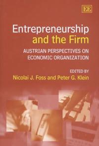 Entrepreneurship and the Firm