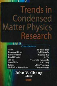 Trends in Condensed Matter Physics Research