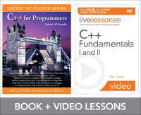 C++ Fundamentals I and II + C++ for Programmers