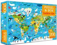 Pussel & bok: Världens djur
