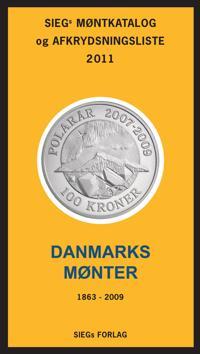 Siegs Møntkatalog og afkrydsningsliste, 2011