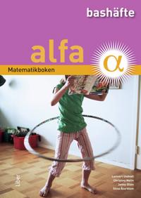 Matematikboken Alfa Bashäfte