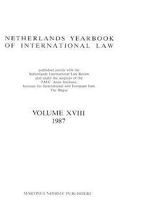 Netherlands Yearbook Of International Law, 1987