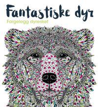 Fantastiske dyr. Fargelegg dyreriket -  pdf epub