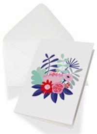 Presentkort 50 kr - tryckt med kuvert