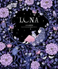 Luna : målarbok
