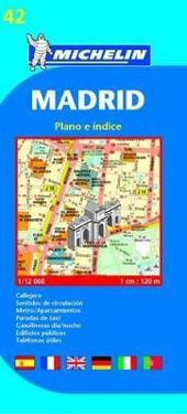 Michelin Map Madrid #42