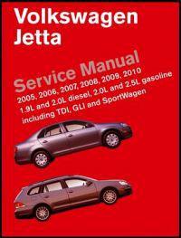 Volkswagen Jetta (A5) Service Manual 2005-2010