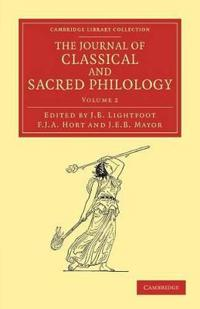 The The Journal of Classical and Sacred Philology 4 Volume Set The Journal of Classical and Sacred Philology