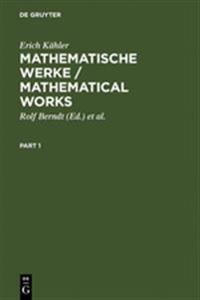 Mathematische Werke/Mathematical Works