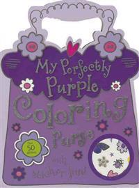 Mini My Perfectly Purple Coloring Purse