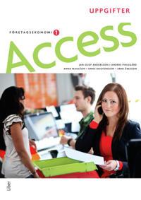 Access Företagsekonomi 1, Uppgiftsbok med cd