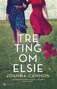 Tre ting om Elsie - Joanna Cannon   Ridgeroadrun.org