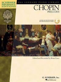 Frederic chopin - chopin preludes (book/online audio)