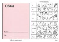 OS64 elevhäften - 25-pack
