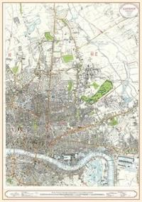 London Street Map 1863 - North East
