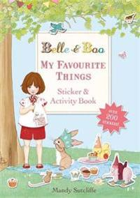 My Favourite Things: A Sticker and Activity Book