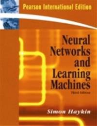Neural networks and learning machines - international edition
