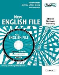 New English File: Advanced: Workbook (without key) with MultiROM Pack