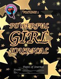 Powerful Girl Journal: Glittering Stars Volume 1