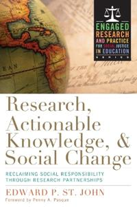 Research, Actionable Knowledge & Social Change
