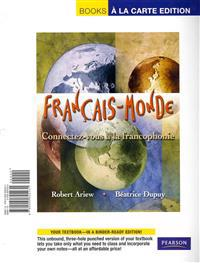 Français-Monde: Connectez-Vous À La Francophonie, Books a la Carte Edition