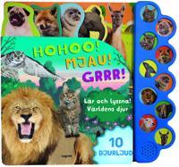 Lär och lyssna! Världens djur - med 10 djurljud