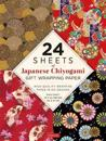 24 Sheets of Chiyogami Patterns Gift Wrapping Paper: High-Quality 18 X 24 (45 X 61 CM) Wrapping Paper