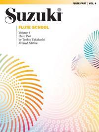 Suzuki Flute School, Vol 4: Flute Part