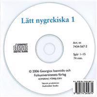 Lätt nygrekiska 1 cd audio