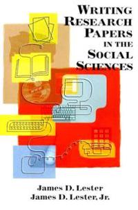 Writing Research Papers In The Social Sciences