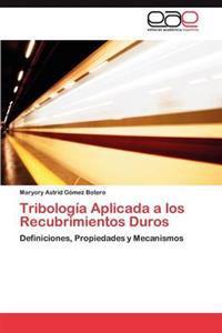 Tribologia Aplicada a Los Recubrimientos Duros