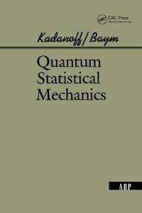 Quantam Statistical Mechanics