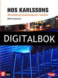 Framåt Yrkesinriktade böcker Hos Karlssons - Att arbeta på restaurang och i