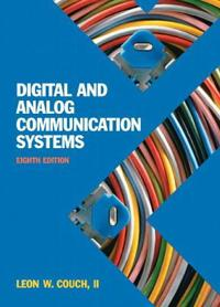 Digital Analog Communication Systems