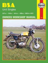 BSA Unit Singles Owners Workshop Manual, No. 127: '58-'72
