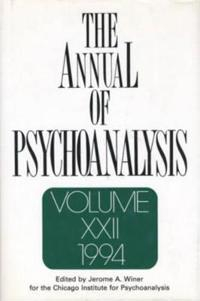 The Annual of Psychoanalysis, V. 22