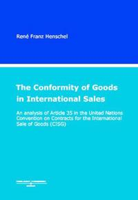 Conformity of Goods in International Sales