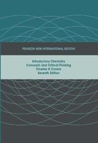 Introductory chemistry: pearson new international edition - concepts and cr