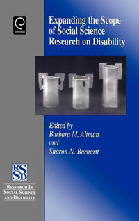 Expanding the Scope of Social Science Research on Disability