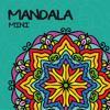 Mandala mini - Turkos