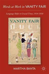 Words at Work in Vanity Fair