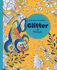 Djupa havets hemligheter : Glitter - målarbok