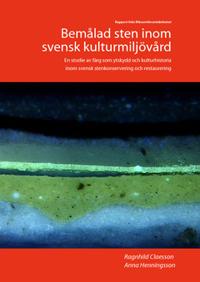 Bemålad sten inom svensk kulturmiljövård
