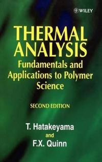 Thermal Analysis 2e