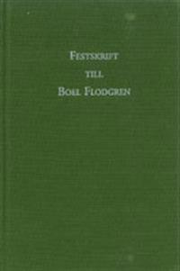 Festskrift till Boel Flodgren